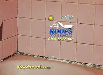 Bathroom leakage seepage solution